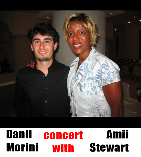 After concert with Amii Stewart