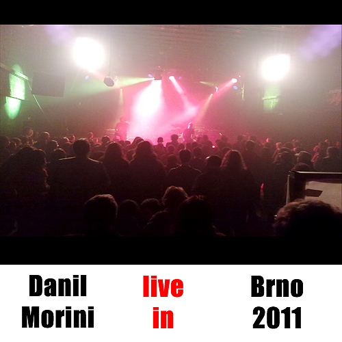 Danil Morini touring with Jolly Joker P.B.U. the hystorical band from Prague